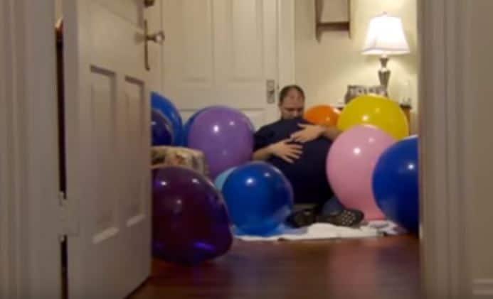 amor por los globos fotos