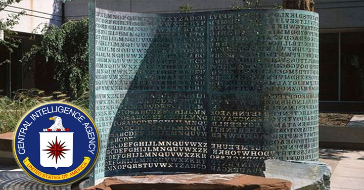kryptos escultura cia