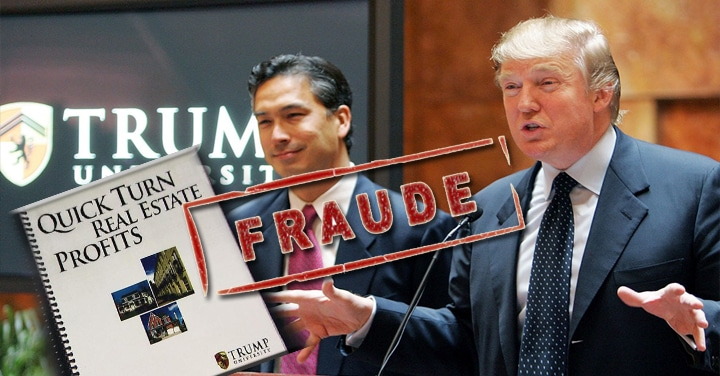 trump university fraude