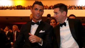 Cristiano Ronaldo Lionel Messi 1