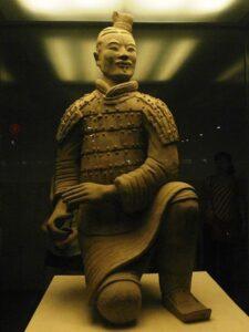 Otro guerrero de terracota Xian China