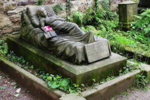 la tumba de Caroline Walter